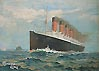 Norman Wilkinson - The Mauretania