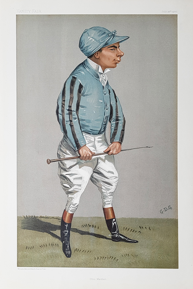 Original Vanity Fair Spy Jockey Print for sale Otto Madden