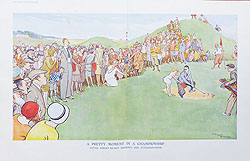 Original Punch Golf 1927 cartoon