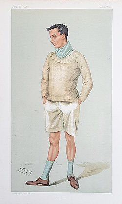 Captain Wilfrid Hubert Chapman Spy Rowing print for sale