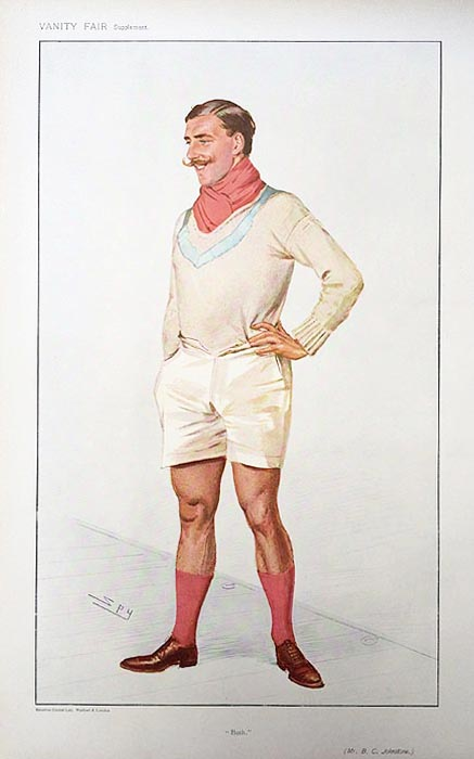 Original Vanity Fair Rowing Spy Print for sale Johnstone