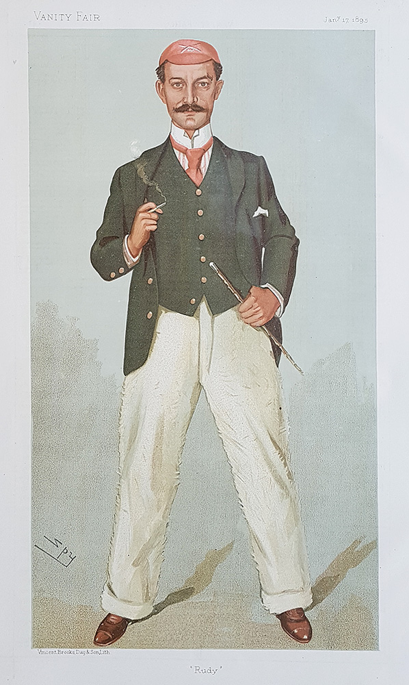 Vanity Fair Rowing Print Rudolf Chambers Lehmann 1895