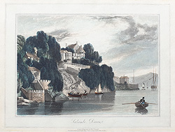 Salcombe aquatint by William Daniell