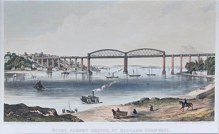 Royal Albert Bridge Saltash Royal Albert Railway Bridge