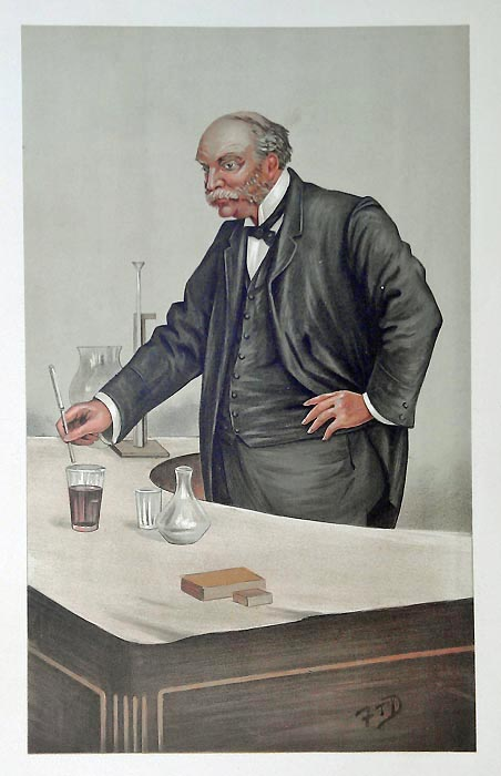 Original Vanity Fair Science Print for sale Lord Rayleigh