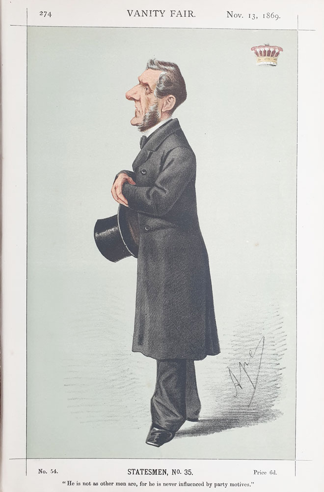 Original Vanity Fair Spy Print for sale The Earl of Shaftesbur