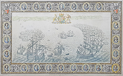 Spanish Armada off South Devon by John Pine