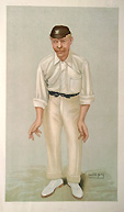 Spy Cricket Print - Robert Abel - Bobby