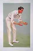 Spy print - Hutchings Cricketer