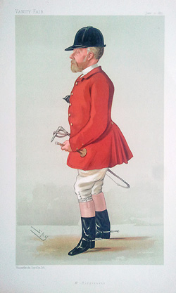 Spy Hunting print - Lt. Colonel John Hargreaves