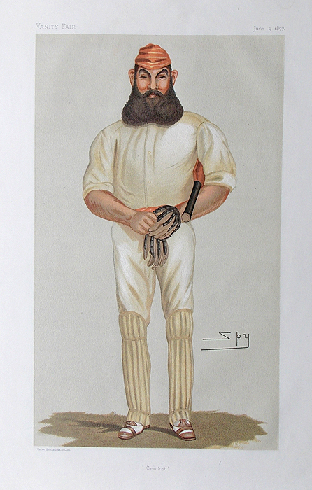 W G Grace - by Spy for Vanity Fair