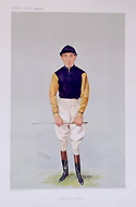Vanity fair caricature of a Jockey - William Griggs 1906