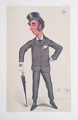 Marquess of Queensbury boxing caricature