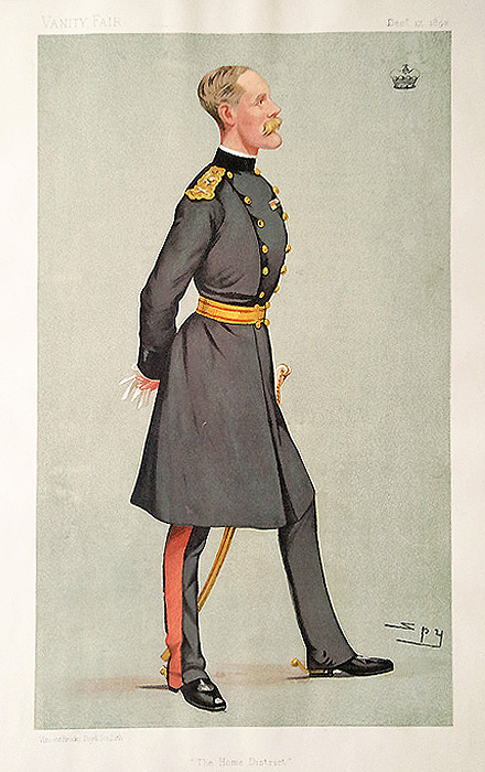 Lord Methuen - Military Caricature