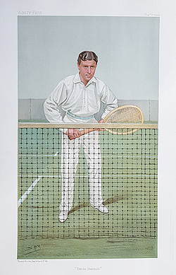 Vanity Fair print of Twennisplayer - Doherty