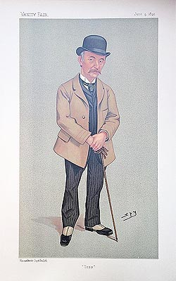 Thomas Hardy Spy Caricature print for sale
