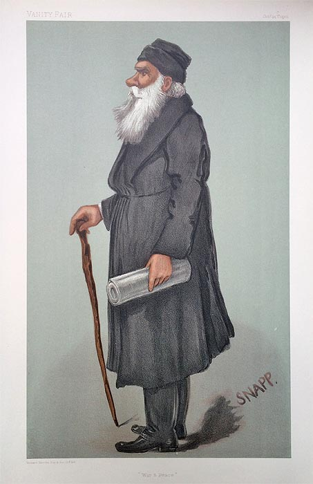 Original Vanity Fair Spy Print for sale Count Lyof Nikolaivitch Tolstoi