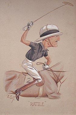 Tout polo caricature