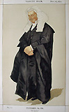 Attorney General antique vanity fair print