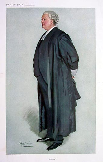 Vanity Fair Print - Legal Barrister