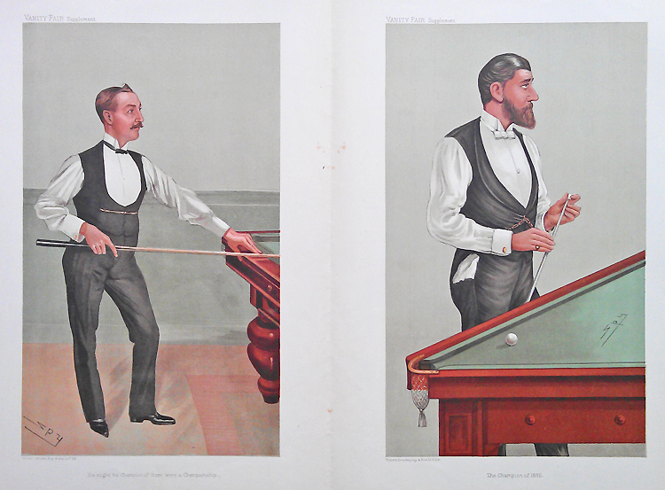Billiards and Snooker - Caricatures