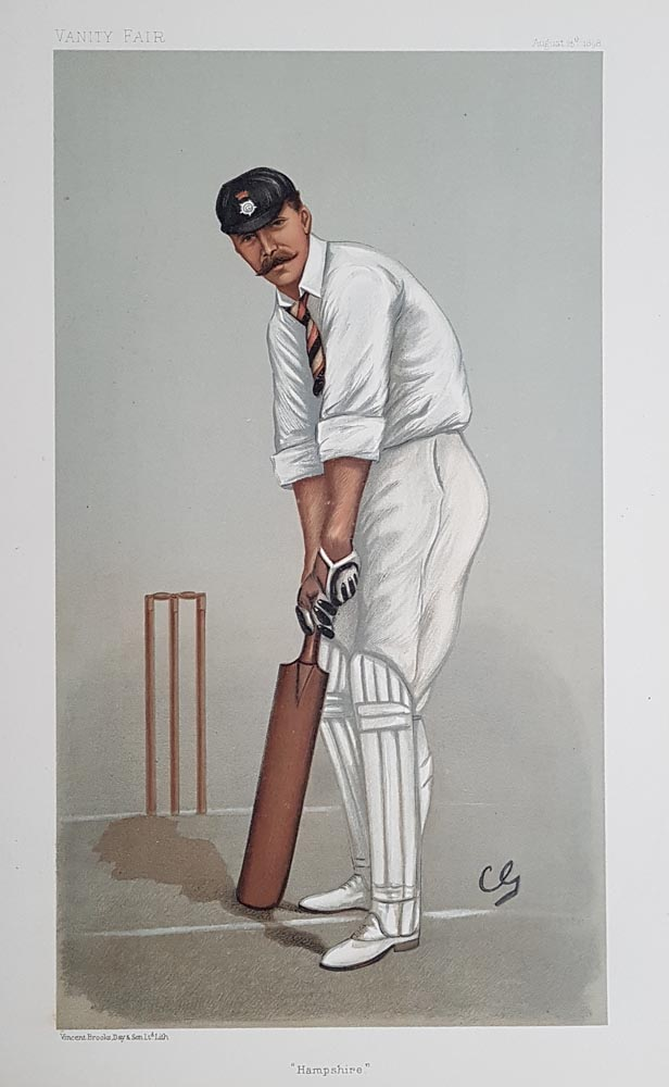 Hampshire Cricket Print from Vanity Fair