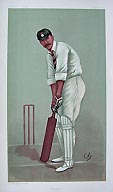 Cricket Print - Vanity Fair - Hampshire