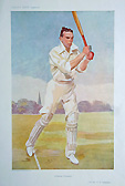 Vanity Fair original cricket print - Gillingham