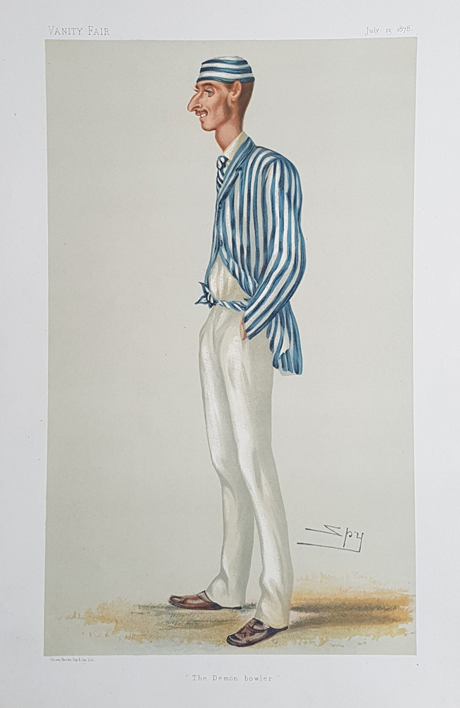 Frederick William Spofforth Original Vanity Fair Spy Print for sale