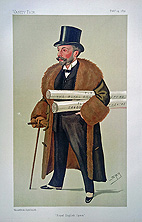 Richard D'Oyly Carte Vanity Fair Print by Spy