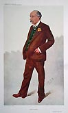 Sir Robert Edgecumbe - Lawyer - Mayor of Dorchester - Vanity Fair print by Spy