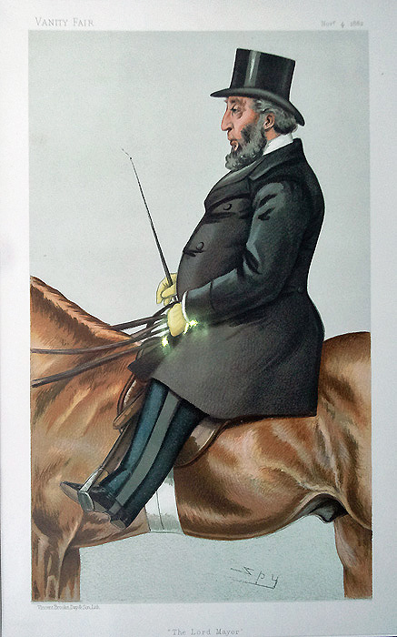 Sport Rider - Ellis Original Vanity Fair Spy Print for sale