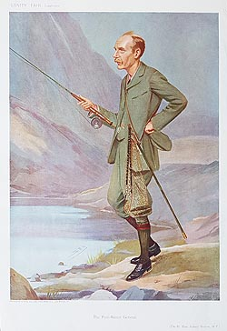 Sydney Buxton - Original Vanity Fair Fly Fishing print for sale