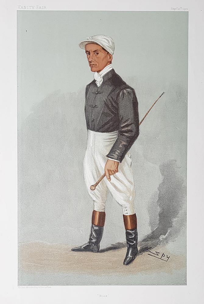 Vanity Fair Jockey Print For Sale Fred Rickaby 1901
