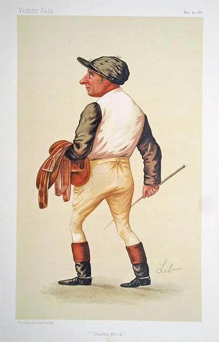 Original Vanity Fair Spy Jockey Print for sale Charles Wood