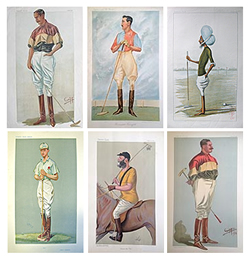 Vanity Fair Polo players set for sale