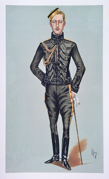 Original Vanity Fair Royalty Print for sale Prince Albert Victor Edward