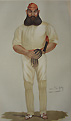 W. G. Grace Original Vanity Fair Print
