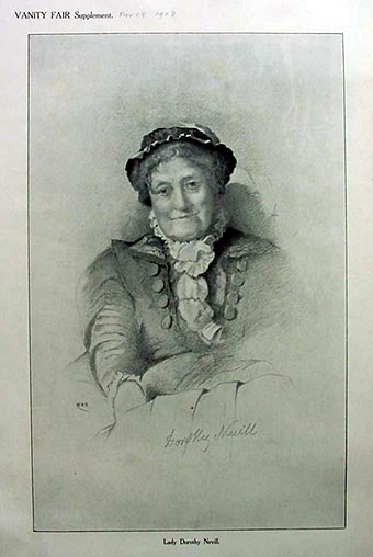 Lady Dorothy Nevill by Who