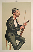 Violin Player Vanity Fair print