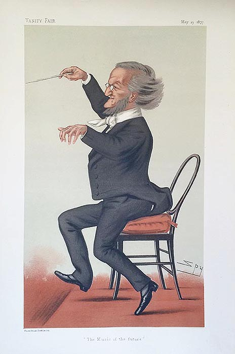 Original Vanity Fair  Print for sale Richard Wagner