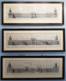 The Palace of Whitehall London by Inigo Jones