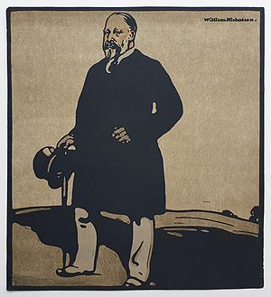 Caricature  by William Nicholson - George V