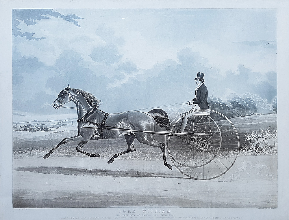 Lord William Horse Trotting Print after William Shayer