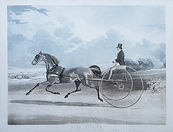 William Shayer Trotting Print by James Mackrell